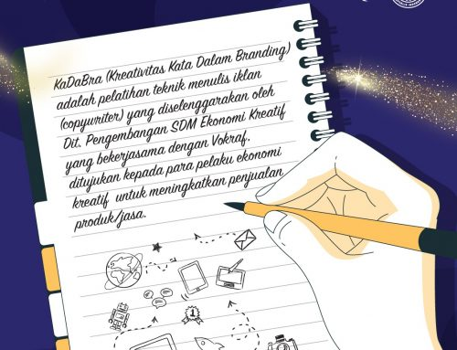 Siaran Pers: Sebanyak 250 Pelaku Ekraf Ikuti Pelatihan Penulisan Kreatif Iklan